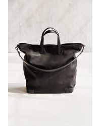 Silence + Noise - Structured Base Pebbled Tote Bag - Lyst