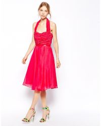 Coast Pink Maddison Dress - Lyst