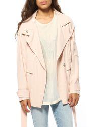 IRO Dixia Jacket pink - Lyst