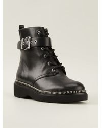 Michael by Michael Kors Vivia Ankle Boots - Lyst