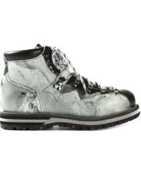 Moncler Mountain Print Hiking Boots - Lyst