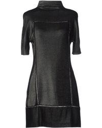Paco Rabanne Short Dress - Lyst