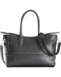 Perlina - Valentina Leather Colorblock Tote - Lyst