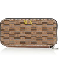 Moreau M'onogrammable Wallet - Natural