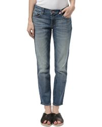 J Brand Ellis Cropped Jeans - Lyst