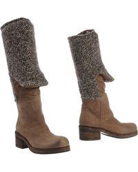 Vic Matie' Boots khaki - Lyst