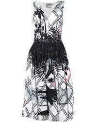 Preen Palm Print Dress - Lyst