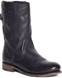 Brooks Brothers - Vintage Shoe Company Short Leather Buckle Boots - Lyst