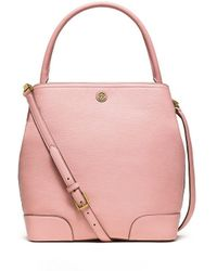 Tory Burch Frances Bucket Tote - Lyst