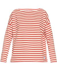 Orcival - Breton-stripe Oversized Cotton Top - Lyst
