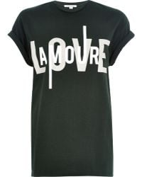 River Island Green Amour Print Oversized T-Shirt - Lyst