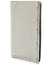 Whiting & Davis - Passport Cover Gold - Lyst