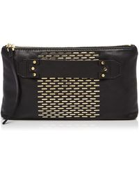 She + Lo - Next Chapter Studded Clutch - Lyst
