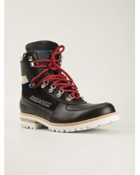 DSquared² - Stylised Hiking Boots - Lyst