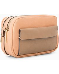 Mango - Double Compartment Bag - Lyst