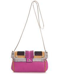 Paula Cademartori Petite Clara Leather Shoulder Bag - Lyst