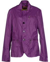 John Galliano Purple Jacket - Lyst