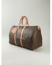 Louis Vuitton Keep All 45 Bowling Bag - Lyst