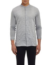 John Varvatos Chevron Tunic-Shirt - Lyst