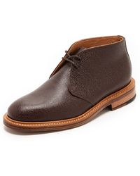 Mark McNairy New Amsterdam Pebble Grain Chukka Boots - Lyst