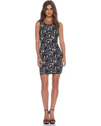 Milly Lace Jacquard Dress - Lyst