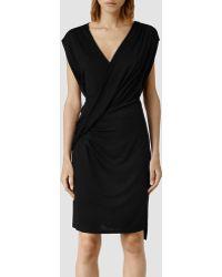 AllSaints Helix Dress - Black