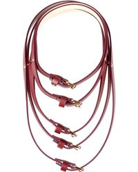 Oblique - Necklace - Lyst