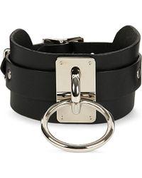 Zana Bayne - Leather Choker Collar - Lyst