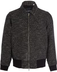 Our Legacy Black Aviator Basket Weave Jacket - Lyst