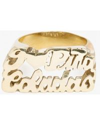 Snash Jewelry | I Love Pina Coladas Ring | Lyst