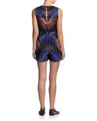 Mara Hoffman Printed Short Jumpsuit - Black