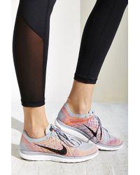 Nike Flyknit Free 4.0 Sneaker - Gray