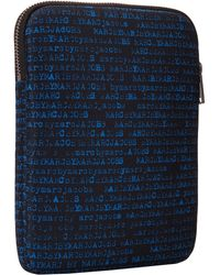 Marc By Marc Jacobs Typewriter Printed Cordura Tablet Case - Lyst