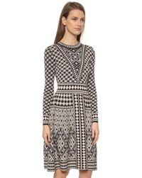 Temperley London Empire Dress - Black Mix - Lyst