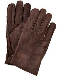 BOSS Orange - Buffalo Leather Gloves 'Gans' - Lyst