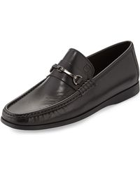 Bruno Magli Enaudin Leather Slip-On Loafer - Lyst