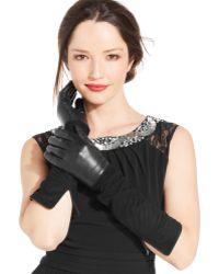 Lauren by Ralph Lauren Colorblock Opera Gloves - Lyst