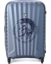 Diesel Blue Travel Suitcase - Lyst