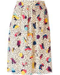 Chloé Beige A-line Skirt - Lyst