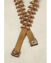 Deepa by Deepa Gurnani - Jeweled Scallop Belt - Lyst