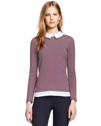 Tory Burch Patsy Top - Red