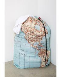 Forever 21 - Kikkerland World Map Laundry Bag - Lyst