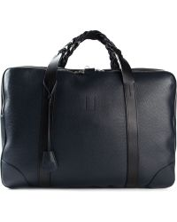 Golden Goose Deluxe Brand - Plaited Handle Luggage Bag - Lyst