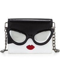 Alice Olivia Stacy Face Mini Clee Shoulder Bag Lyst