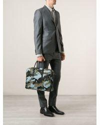 Valentino Rockstud Laptop Bag - Blue