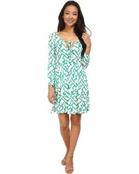 French Connection Downtown Grid Dress 71Dcy - Lyst