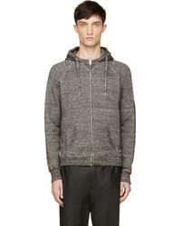 Diesel Dark Heather Grey Shipo Sweatshirt - Lyst
