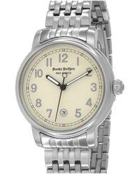Brooks Brothers 'red Fleece' Bracelet Watch - Metallic