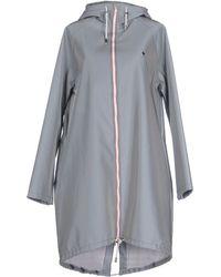 Wanda Nylon Full-length Jacket - Gray