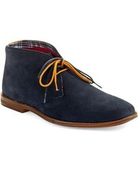 Ben Sherman Blue Bailey Chukkas - Lyst